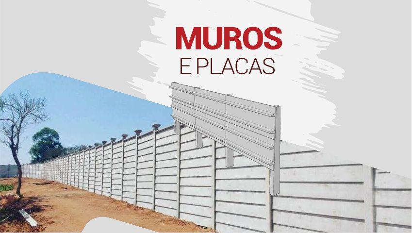 Muros e Placas